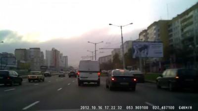 Очень злой инкассатор в Минске.
