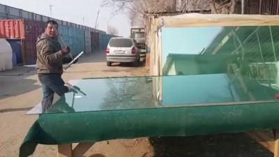 Резка стекла. Мастер-класс от таджиков
