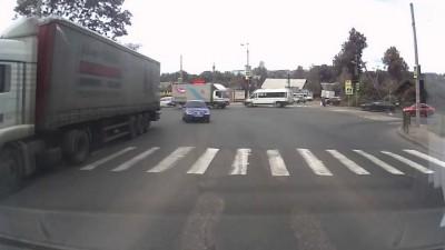 ДТП под горочку в Смоленске