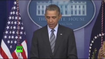 Реакция Обамы на присоединение Крыма