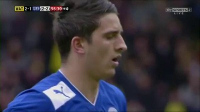 Watford v Leicester - Play Off Semi Final (last few minutes) - 12-05-13