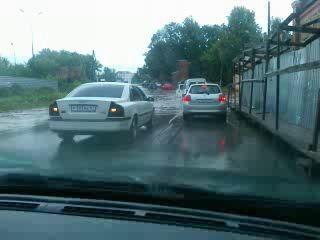 Потоп на ул. Речная