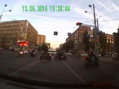 Мотоциклисты в Ростове