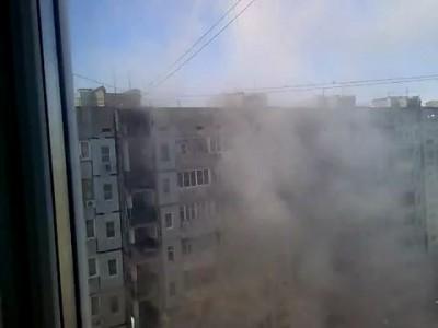 Взрыв дома в Астрахани