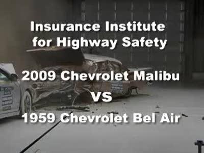 959 Chevrolet Bel Air VS. 2009 Chevrolet Malibu