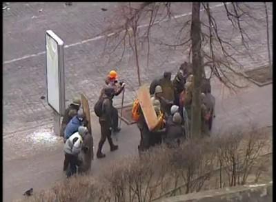 Расстрел революционеров в Киеве
