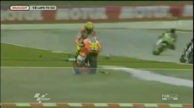 Смертельная авария на MotoGP