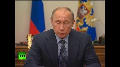 Путин раскритиковал действия МВД на Матвеевском рынке
