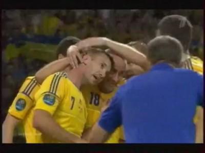 Украина 2:1 Швеция гол Шевченко (2) (11.06)