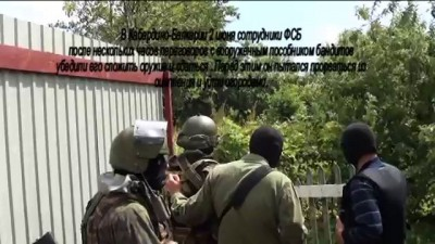 Задержание пособника бандподполья в г. Баксан