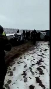 Корова и УАЗ уничтожили Лачетти