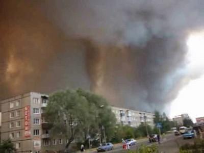 Пожары в Выксе-2