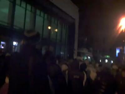 Ежедневная давка у станции метро Чернышевская