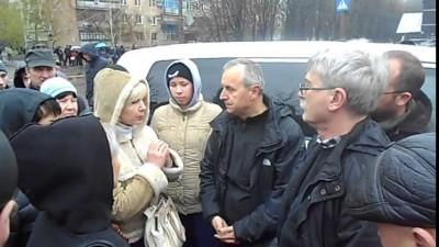Представители ОБСЕ в Славянске. 13.04.2014