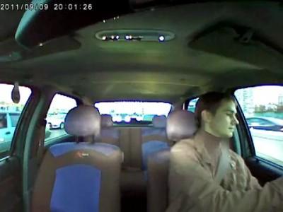Водитель А068МР97 напал
