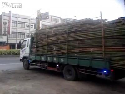 Выгрузил бамбук как босс