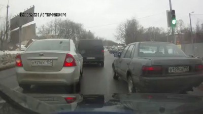 """Три столба"" Авария"