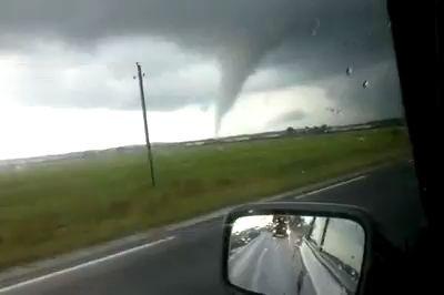 Торнадо в Шауляй