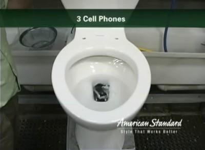 американский унитаз