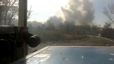 Донецкий аэропорт Украинские военные продолжают защищаться