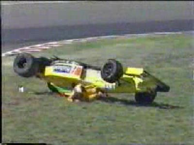 F1 аварии - 1995-96-97