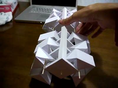 Механизм из бумаги