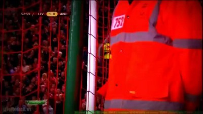 Ливерпуль - Анжи 1:0. Гол Даунинга