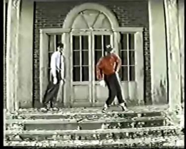 Одни из самых первых танцоров electric boogie в СССР