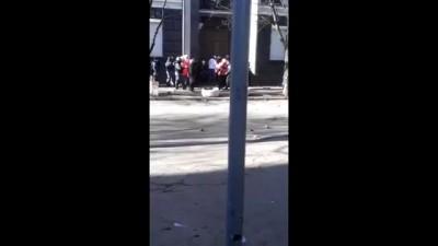 ШОК!!! Всплыло видео где грузовик раздавил колону Беркут