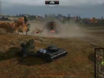 Моменты World of Tanks 15 фрагов