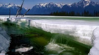 Звуки природы.Весенние ручейки..mp4
