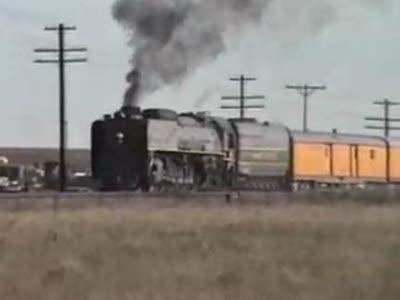 Скоростной паровоз Union Pacific 844