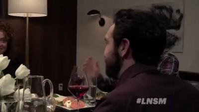Джон Сноу на ужине у Сэта Мейерса