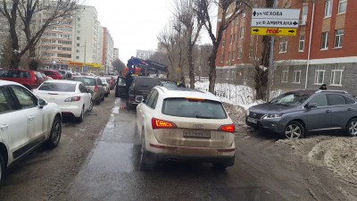 И снова на дорогах Казани