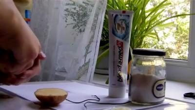 Картошка + Соль + Зубная паста = Огонь: МИФ РАЗВЕЯН!!