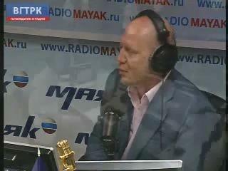 """Дмитрий Медведев в студии радио """"Маяк"""""""