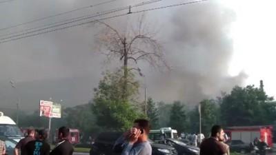 Пожар на севере Москвы.19.06.2012(1)