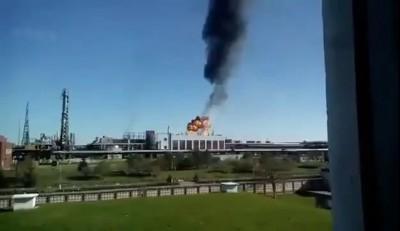 Взрыв на заводе Полимир в Новополоцке 27 апреля 2016 года