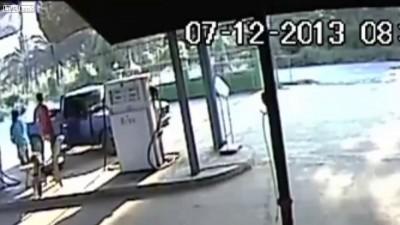 Авария хруста в Таиланде