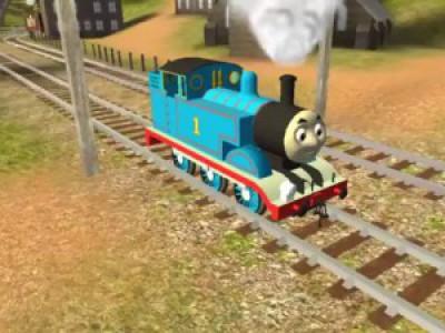 Паровозик Томас и его друзья. Мультики про гонки. Смотреть мультфильм паровозик Томас для детей