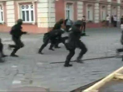 Полиция в действии