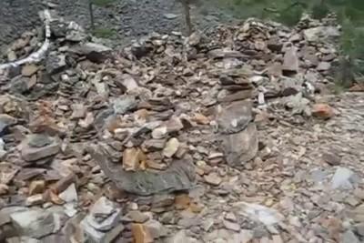 Каменный городок Шавлинские озера