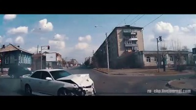 Just ordinary day of dashcam in Russia