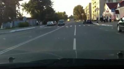 Самый адекватный кот-пешеход!