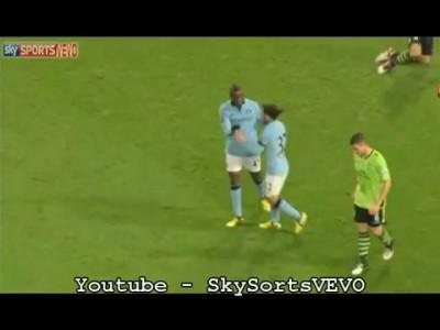 Aston Villa 4-2 Man City All Goals & Highlights | Capital One Cup 25/09/2012