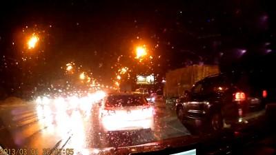 Лазерный хулиган на дорогах