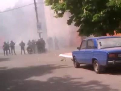 Мариуполь. Убийство фашиста