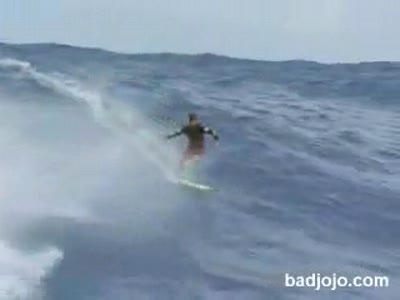 Серфинг на самой большой волне