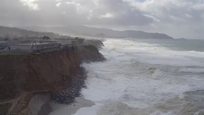 WATCH: Pacifica Coastal Erosion Caught on Drone Video