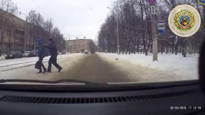 ДТП на пешеходном Витебск